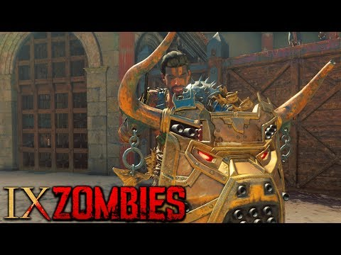 """IX"" ZOMBIES - SIDE EASTER EGGS & CHALLENGES COMPLETION! (Black Ops 4 Zombies Gameplay)"