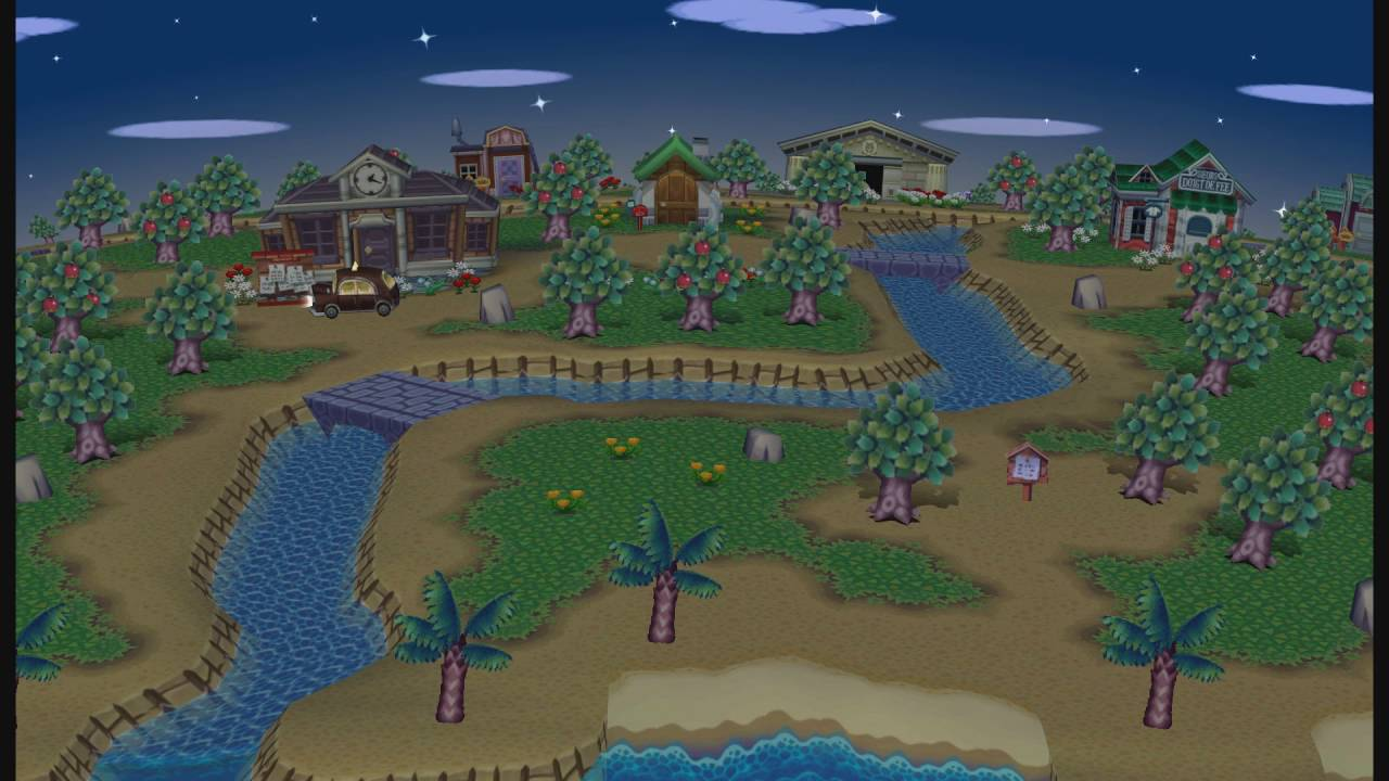 Video Wallpaper Animal Crossing Night 2 Youtube