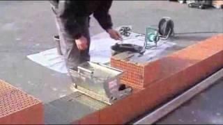 EDER Pustak szlifowany  - murowanie, na klej, film instruktażowy