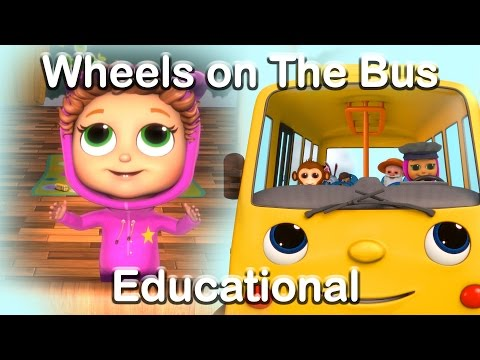 The Wheels on the Bus - Educational Nursery Rhymes with Baby Joy Joy