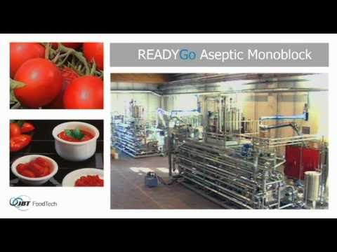 JBT Aseptic Systems - Fruit and Juices Aseptic Processing Line [09115]