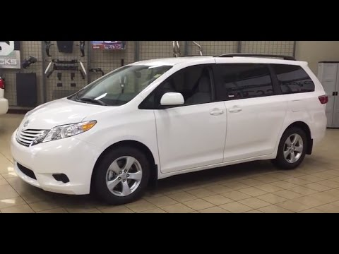 2017 Toyota Sienna Le Fwd Review