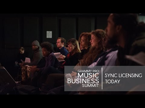 GRAMMY Pro Music Business Summit: Sync Licensing Today Panel   New York