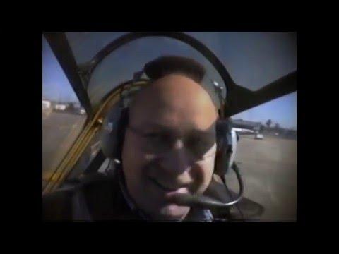 David's Flight in an AT-6 TEXAN