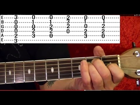 THE MAN WHO SOLD THE WORLD Guitar Lesson by David Bowie/Nirvana