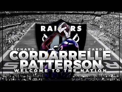 """Cordarrelle Patterson """"The Flash"""" Welcome to the Nation"""