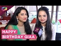Giaa Manek Celebrates Her Birthday With India Forums | EXCLUSIVE