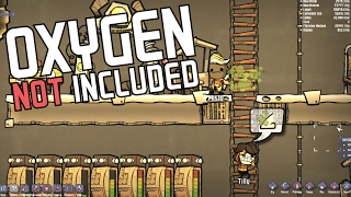 Oxygen Not Included - Good Gas Flow! - Episode 2 - ONI Alpha Gameplay