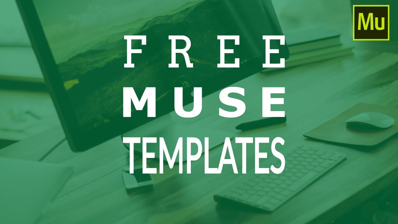 Download Free Adobe Muse Templates Youtube