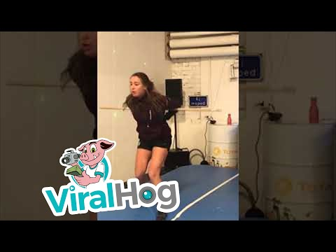Jim Show - This Girl Takes Burpees To A Whole New Level!