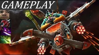 Good Old Gyrocopter Carry | Gameplay Commentary Dota 2