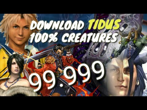 FFX-2 Remaster - 100% history & creatures DOWNLOAD save, Tidus and more