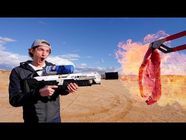 美国人真的买喷火器考烤排吗?