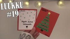 JOULUKORTTEJA //DIY //joulukalenteri #19