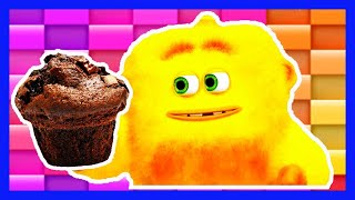 Cartoons for Kids | Monster Math Squad | FULL EPISODE | Monster Muffin Muddle