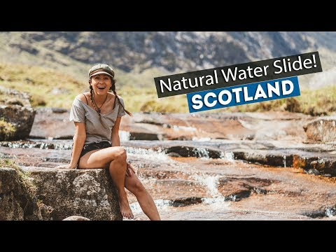 SECRET SCOTTISH WATER SLIDE! | Wild Camping In The SCOTTISH HIGHLANDS!