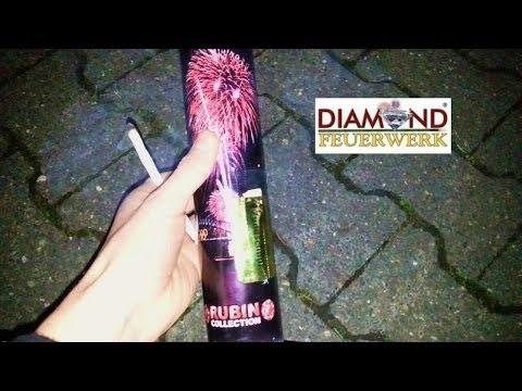 Diamond Feuerwerk - Bombenrohr 50mm Silver Star ★ HD