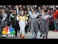 Olympic Flame Begins Journey To PyeongChang South Korea For The Upcoming Winter Games | NBC News