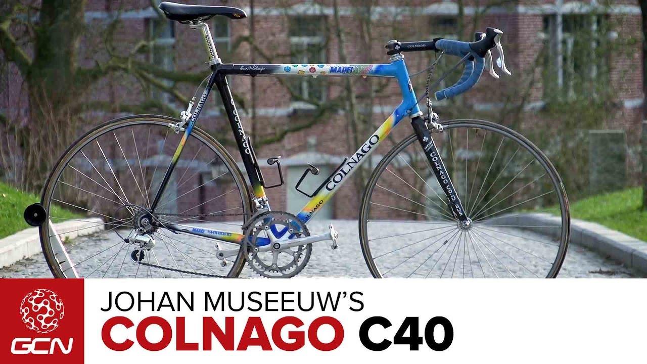 Johan Museeuw\'s Colnago C40 Pro Bike - YouTube