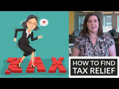 How to Find Tax Relief