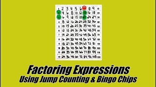 I've never had more success with my students factoring expressions....