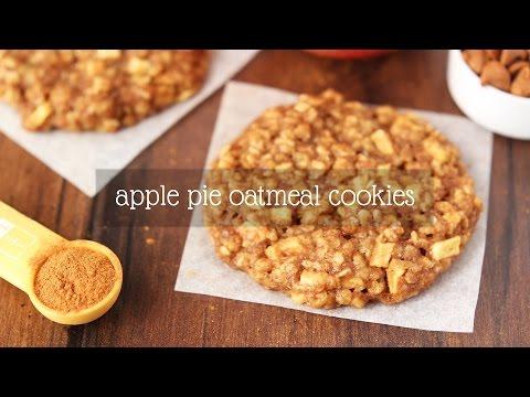 Apple Pie Oatmeal Cookies | Amy's Healthy Baking