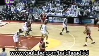 Jordan scores 56 in first ever playoff game in Miami: Bulls @ Heat G3 1992