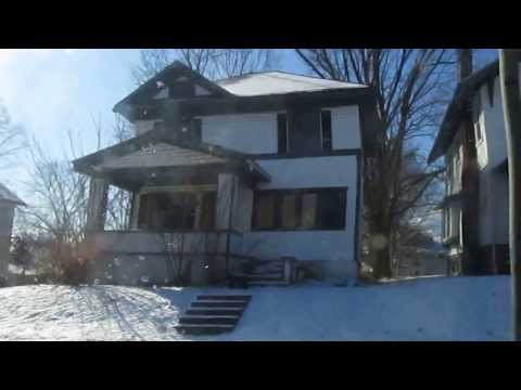 Abandoned Houses in Dayton, Ohio. Video 1