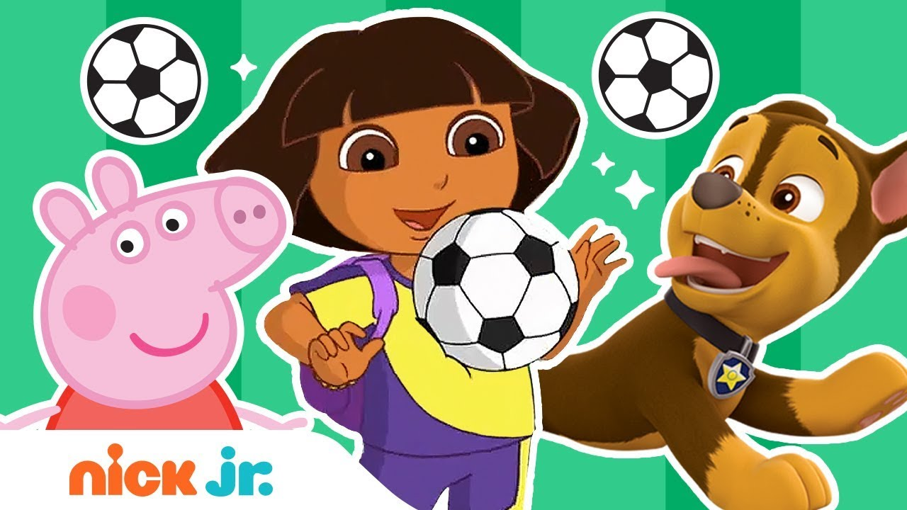 Soccer Game Competition ⚽ World of Nick Jr. Championship Cup ? w/ PAW Patrol, Peppa Pig, & More!
