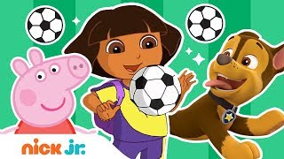 Soccer Game Competition ⚽ World of Nick Jr. Championship Cup 🏆 w/ PAW Patrol, Peppa Pig, & More!