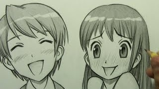 How to Draw Manga Facial Expressions (Joy, Embarrassment)