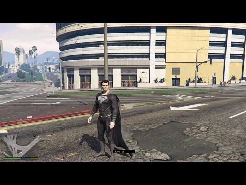 GTA 5 - Superman Black Suit from JL Snyder Cut