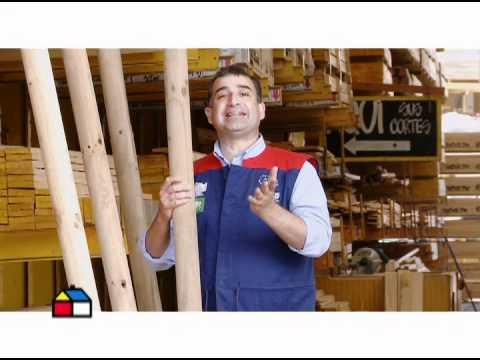 Qu materiales usar para hacer un cobertizo youtube - Como hacer un columpio de madera ...