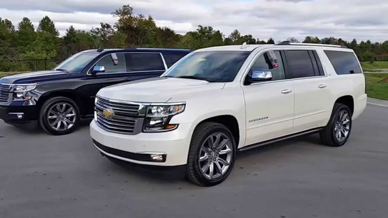 gmc suv chevrolet denali premier acadia vs comparison suburban off