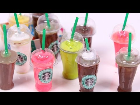 DIY Mini Starbucks WITHOUT polymer clay