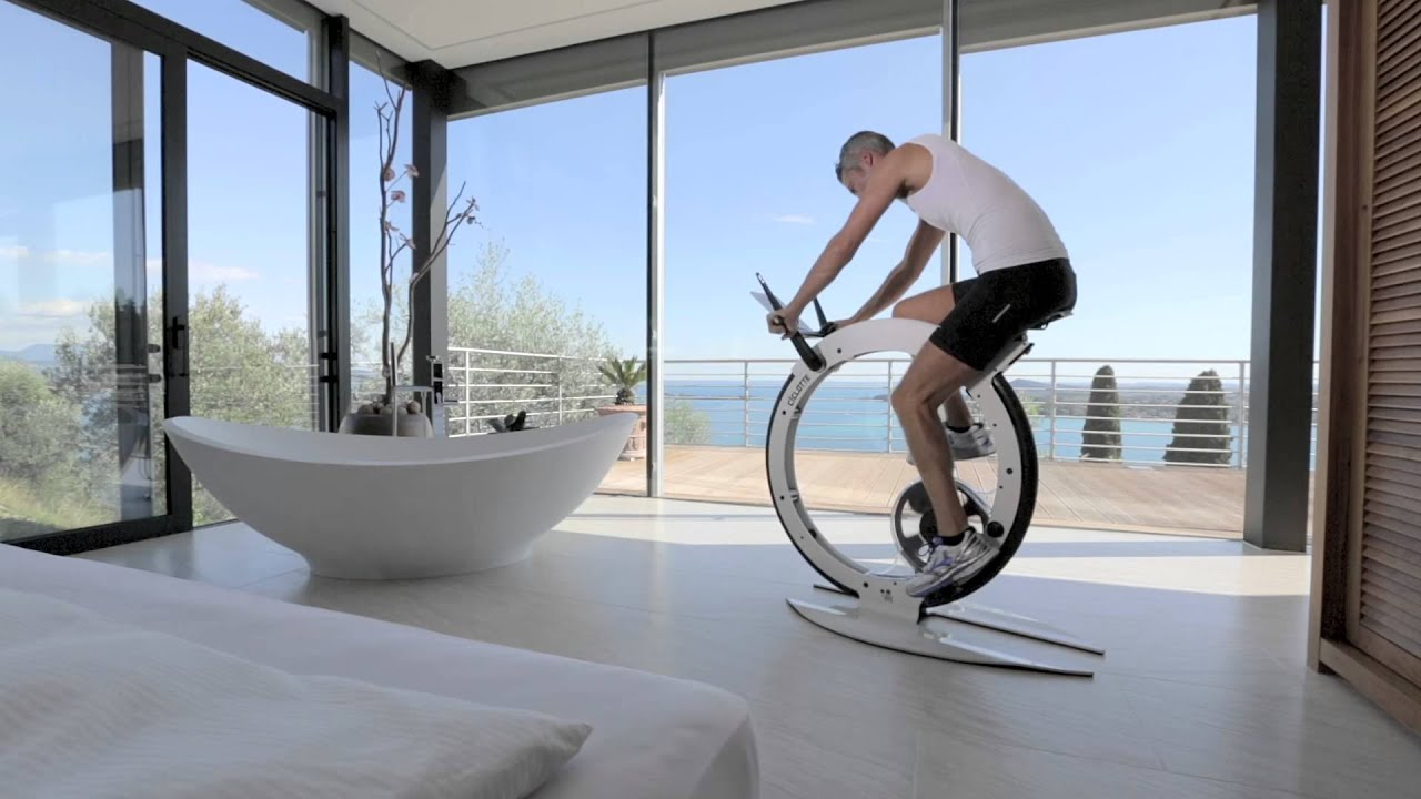 Ciclotte ride on design youtube for Indoor cycle design