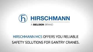 overload protection for gantry cranes by hirschmann mcs