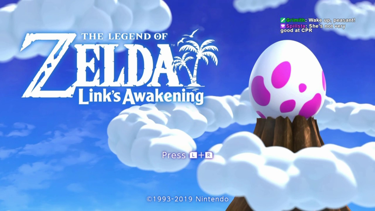Legend of Zelda: Link's Awakening 2019 (Hero Difficulty) - 01 thumbnail