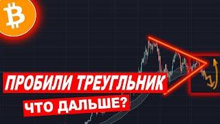 Криптовалюта БИТКОИН Прогноз — BTC Что Дальше?!