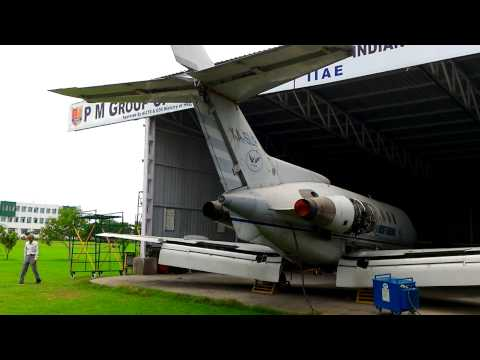 Rolls royce viper 601 ground testing 2 of R engine