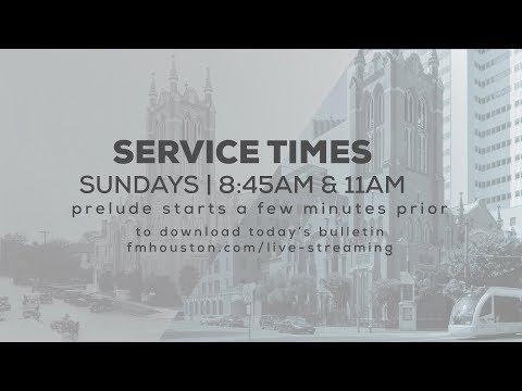 First Methodist Houston Live Stream