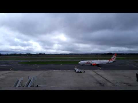 time lapse at Afonso Pena International Airport - CWB