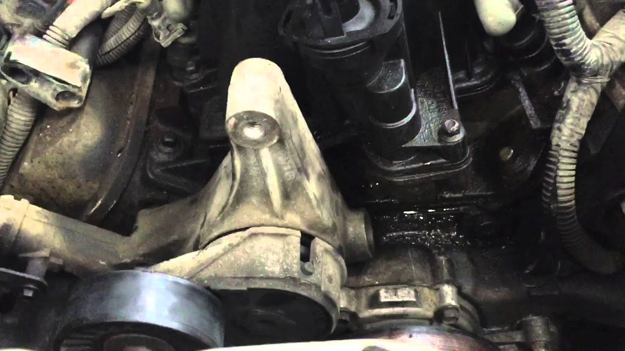 Buick Regal Antifreeze Leak Around Water Pump And Bypass Fitting Video 2of3 Youtube
