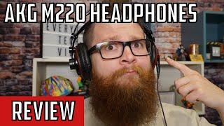 AKG M220 Semi Open Headphone Review