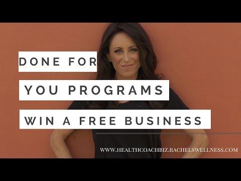 Win a free ROCKSTAR DETOX Business with Rachel Feldman for Health Coaches