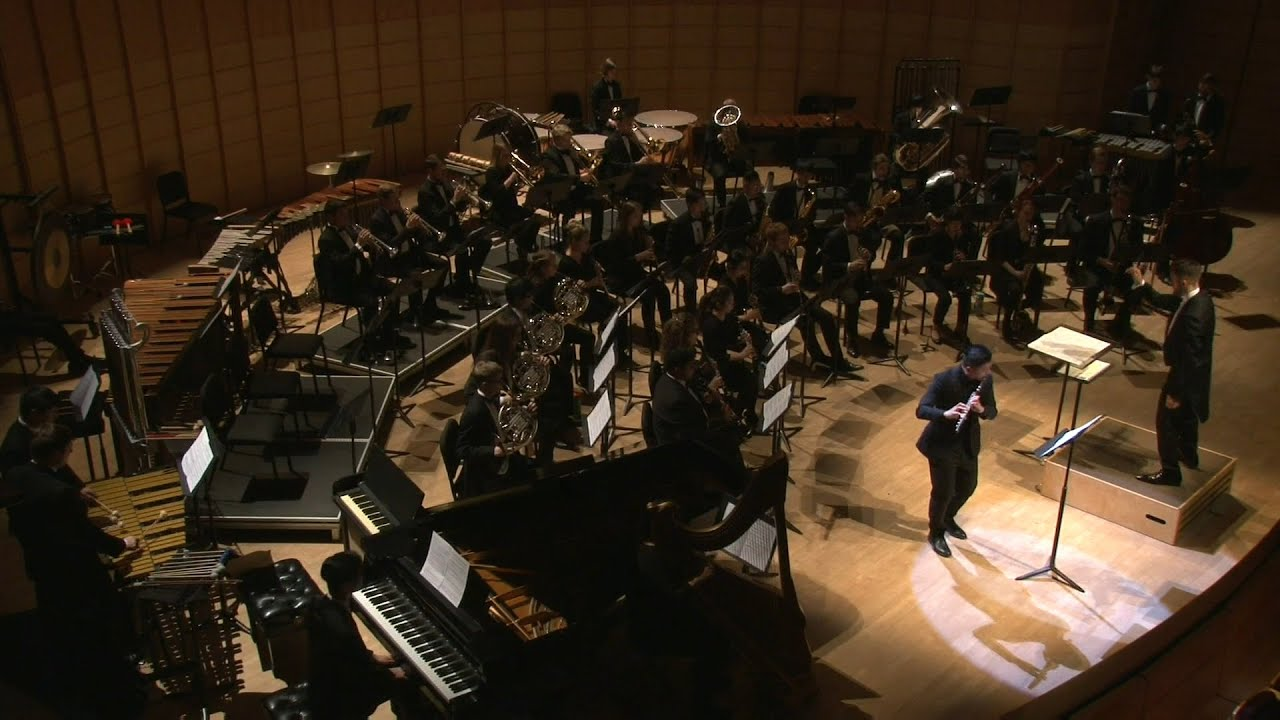 The Shadow of Sirius by Joel Puckett with Paul Hung and UBC Symphonic Wind Ensemble