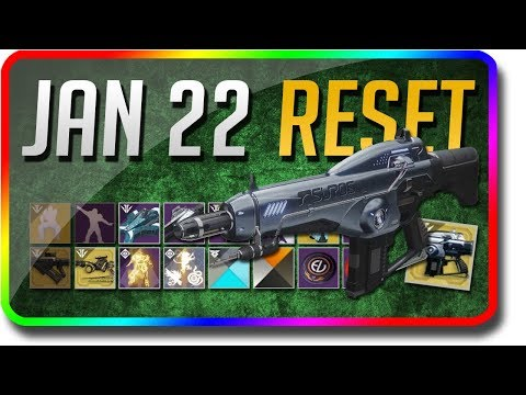 Destiny 2 - Black Armory Weekly Reset! (January 22 Black Armory Weekly Reset, Powerful Gear) thumbnail