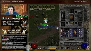 Diablo 2 - 8 Man Paladin Andy Speedrun + Team Duel!
