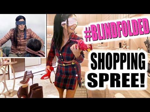 BLINDFOLDED SHOPPING SPREE!