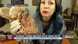 Henderson woman takes selfies with rats for proof of infestation